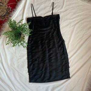 Beautiful Calvin Klein Black Cocktail Dress Sz 12